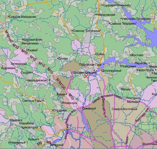 Карта города чебоксар с