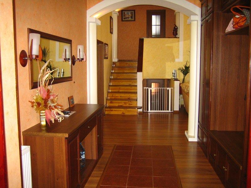 Фото обстановки внутри дома